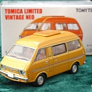 LV-N97b - daihatsu delta wide wagon high roof 1800 custom extra (gold) (Tomica Limited Vintage Neo Diecast 1/64)