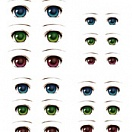 Decals eyes series 1 for 1/6 scale heads