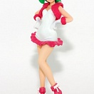 Macross Frontier DX Figure Ranka Lee Christmas Costume White