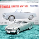 LV-130a - datsun fairlady 1500 (silver) (Tomica Limited Vintage Diecast 1/64)