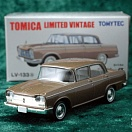 LV-133a - nissan cedric custom 1963 (brown) (Tomica Limited Vintage Diecast 1/64)