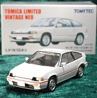 LV-N124b - honda ballade sports cr-x 1.5i special edition (white) (Tomica Limited Vintage Neo Diecast 1/64)
