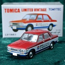 LV-144a - datsun bluebird 1300 standard (nissan sales engineering) (Tomica Limited Vintage Diecast 1/64)
