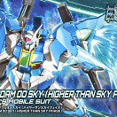 HG Build Divers #014-SP GN-0000DVR/S Gundam 00 Sky Higher Than Sky Phase