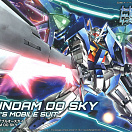 HG (#014) Gundam Build Divers - GN-0000DVR/S Gundam 00 Sky