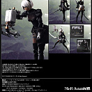 Play Arts Kai - NieR: Automata - Pod 042 - YoRHa No. 2 Type B DX Edition