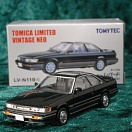 LV-N119c - nissan leopard ultima turbo (black/silver) (Tomica Limited Vintage Neo Diecast 1/64)
