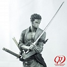 One Piece - Roronoa Zoro - Creator x Creator (black and white)