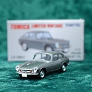 LV-126d - honda s800 coupe (silver) (Tomica Limited Vintage Diecast 1/64)