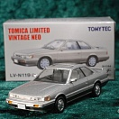 LV-N119d - nissan leopard ultima turbo (silver/grey) (Tomica Limited Vintage Neo Diecast 1/64)