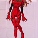 Evangelion bed sheet - Souryuu Asuka Langley (простыня)
