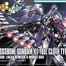 Crossbone Gundam X1 Full Cloth TYPE.GBFT Mobile Suit (HG Build Fighters) (#035)