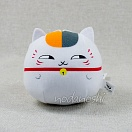 Natsume Yujin-cho round Nyanko-sensei plush right