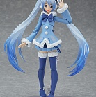 Figma EX-039 - Vocaloid - Hatsune Miku Snow 2012, Fluffy Coat ver. (Limited + Exclusive)