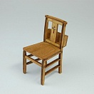 Church Chair (1/12 Scale)