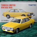 LV-N88b - mitsubishi galant Σ sigma eterna 1600 sl super 1978 (yellow) (Tomica Limited Vintage Neo Diecast 1/64)
