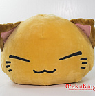 NEMUNEKO Mochiri Fukafuka Big Plush Doll - Red ver.