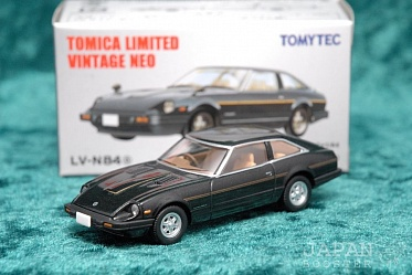 LV-N84a - nissan fairlady 280z-t 2by2 (black) (Tomica Limited Vintage Neo Diecast 1/64)