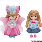 Licca-chan Miki-chan Maki-chan Dress Set Fairy Dress & Usachan One-piece Dress (набор одежды)
