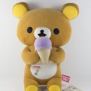Brown Rilakkuma Bear Ice cream
