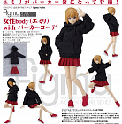 Figma 478 - Original Character - Emily - with Hoodie Outfit