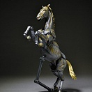 KT Project KT-007 - Revoltech - Horse - Iron Rust