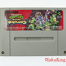 SNES (NTSC-Japan) - Teenage Mutant Ninja Turtles - Mutant Warriors