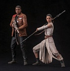 Star Wars: The Force Awakens - Rey and Finn - ARTFX+