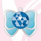 Bishoujo Senshi Sailor Moon Crystal - Necklace - Premium Sebon Star Moon Prism - Sailor Ribbon Sailor Mercury