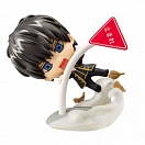 Gintama Petit Chara Land - Ketsuno Ana's Weather Forecast - Hijikata Toushirou red