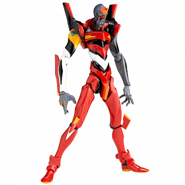Revoltech 124  - Evangelion Evolution - EVA-02 - EV-011  Beta