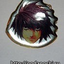 Death Note - transp. pin - L