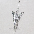 Lord of the Rings - Arven evenstar pendant and necklace (silver ver.) ver.4