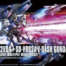 HGUC (#188) LM312V04+SD-VB03A V-Dash Gundam League Militare Multiple Mobile Suit