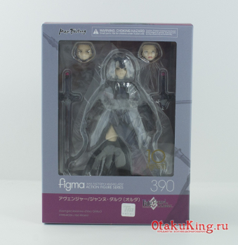 Figma 390 - Fate/Grand Order - Jeanne d'Arc (Alter) Avenger