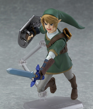 Figma 319 - Zelda no Densetsu: Twilight Princess - Link Twilight Princess ver.