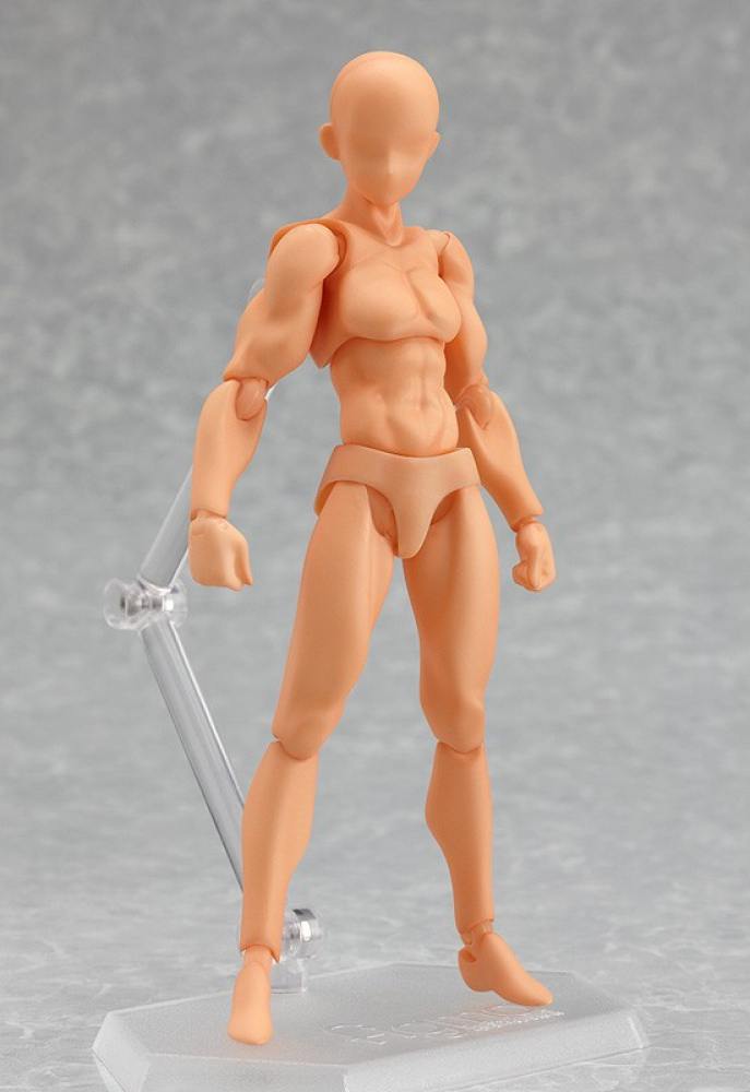 Figma 01 man archetype: He - flesh color ver. (Re-release)