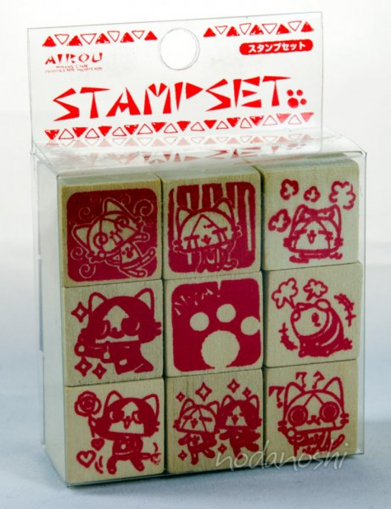 Airou stamps set (moster hunter)