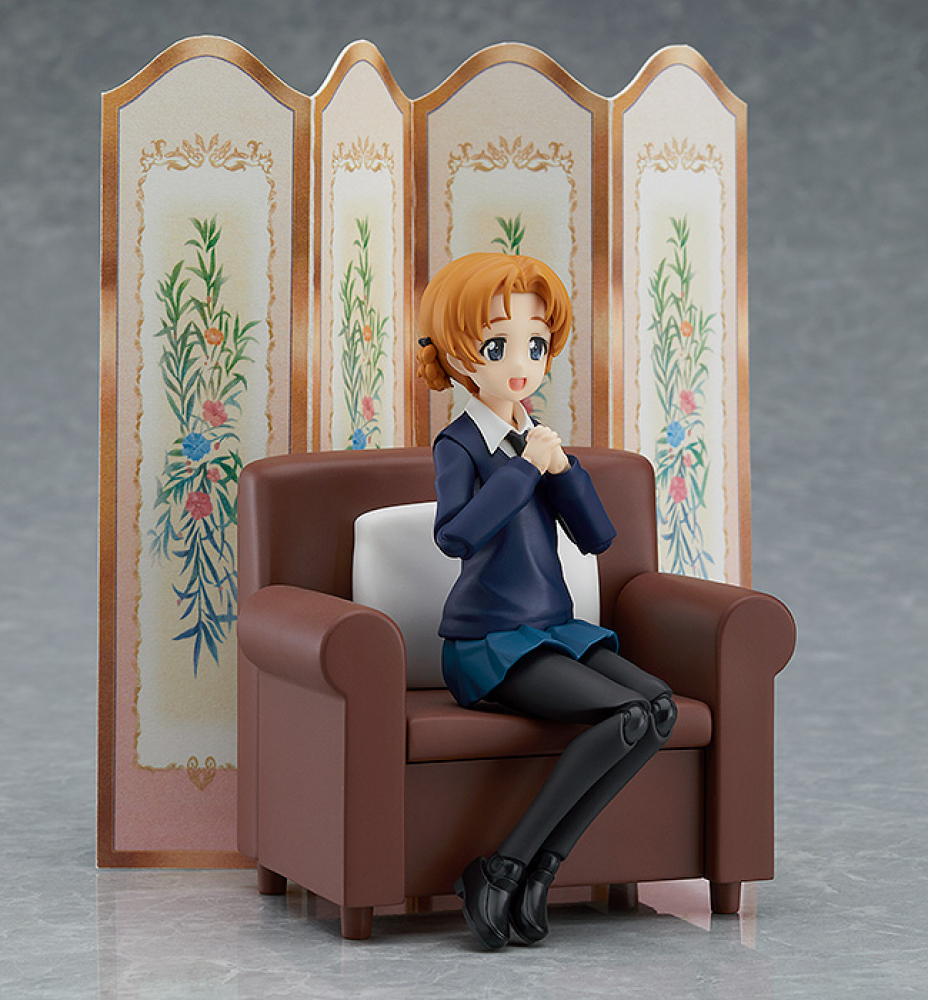 Figma 406 - Girls und Panzer der Film - Orange Pekoe - Darjeeling