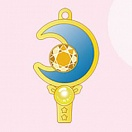 Bishoujo Senshi Sailor Moon Crystal - Necklace - Premium Sebon Star Moon Prism - Moon Stick Sailor Venus