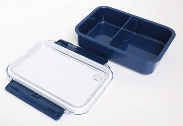 Bento Box - Silver Mode Box Partition - 650 ml Бенто Из Аниме