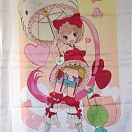 Hello Kitty to Issho bed sheet part 2 (простыня) #2