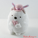 Sumikko Gurashi Usagi Party Plush - Shirokuma